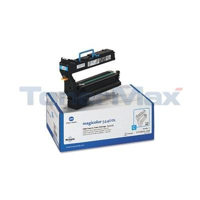KONICA MAGICOLOR 5440DL TONER CART CYAN 12K